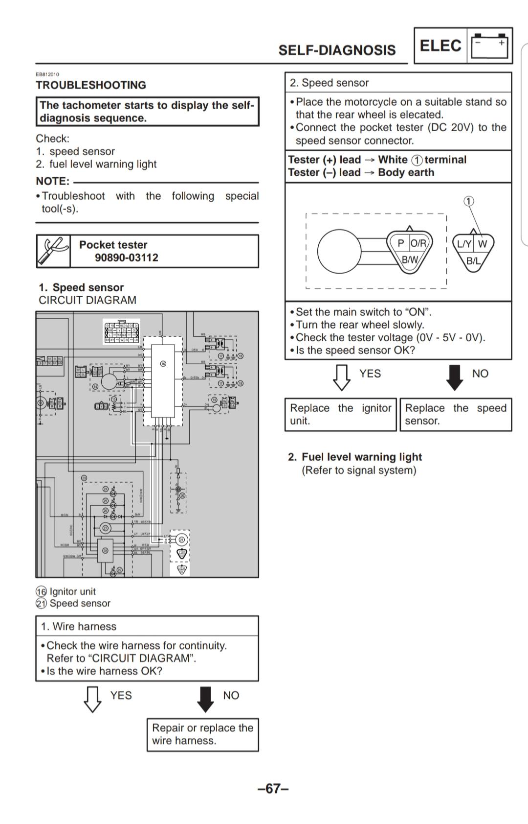 00 R1 Gauge Wiring Diagram Yamaha R1 Forum Yzf R1 Forums