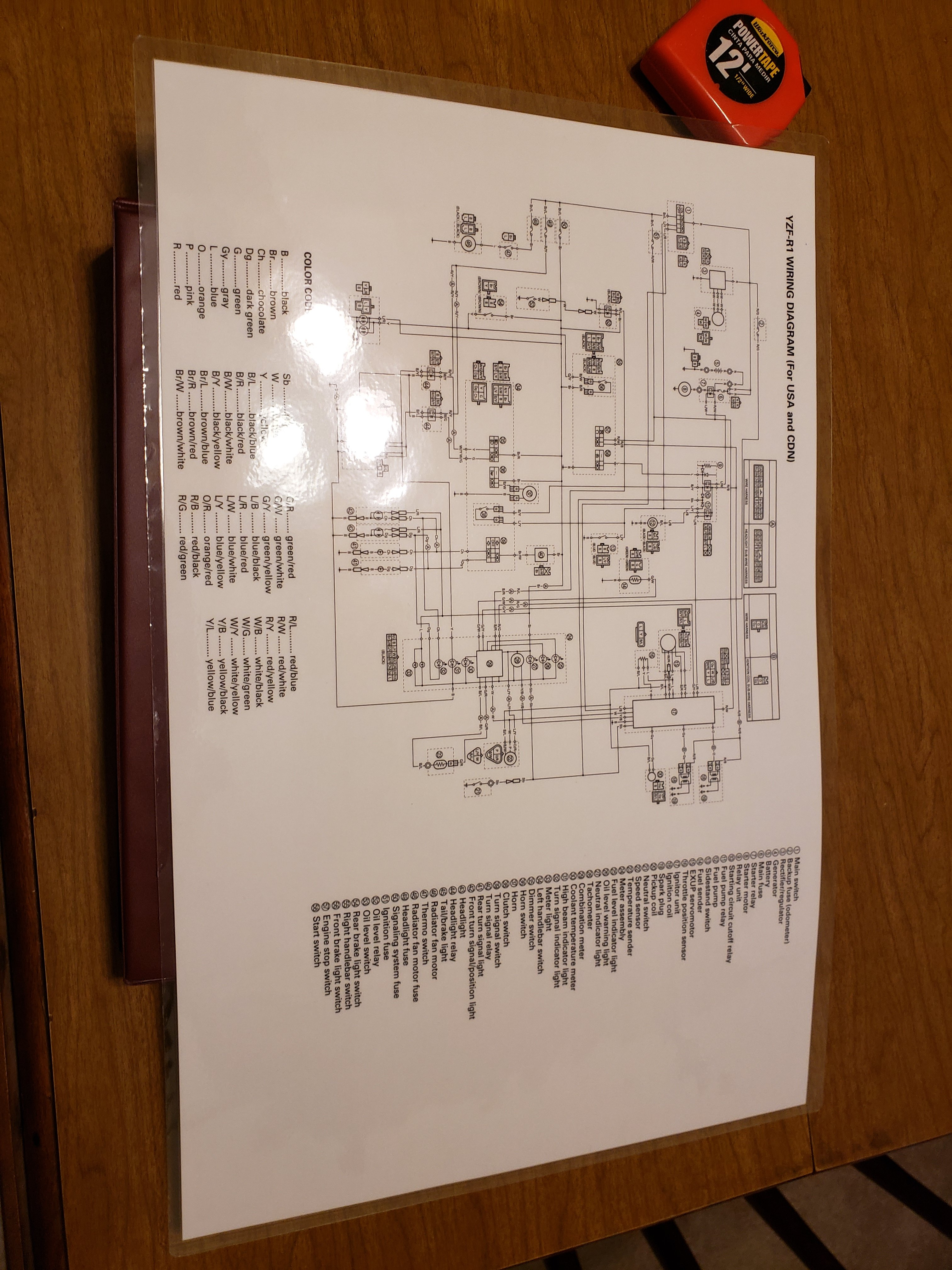 Get 08 Yamaha R1 Wiring Diagram Images