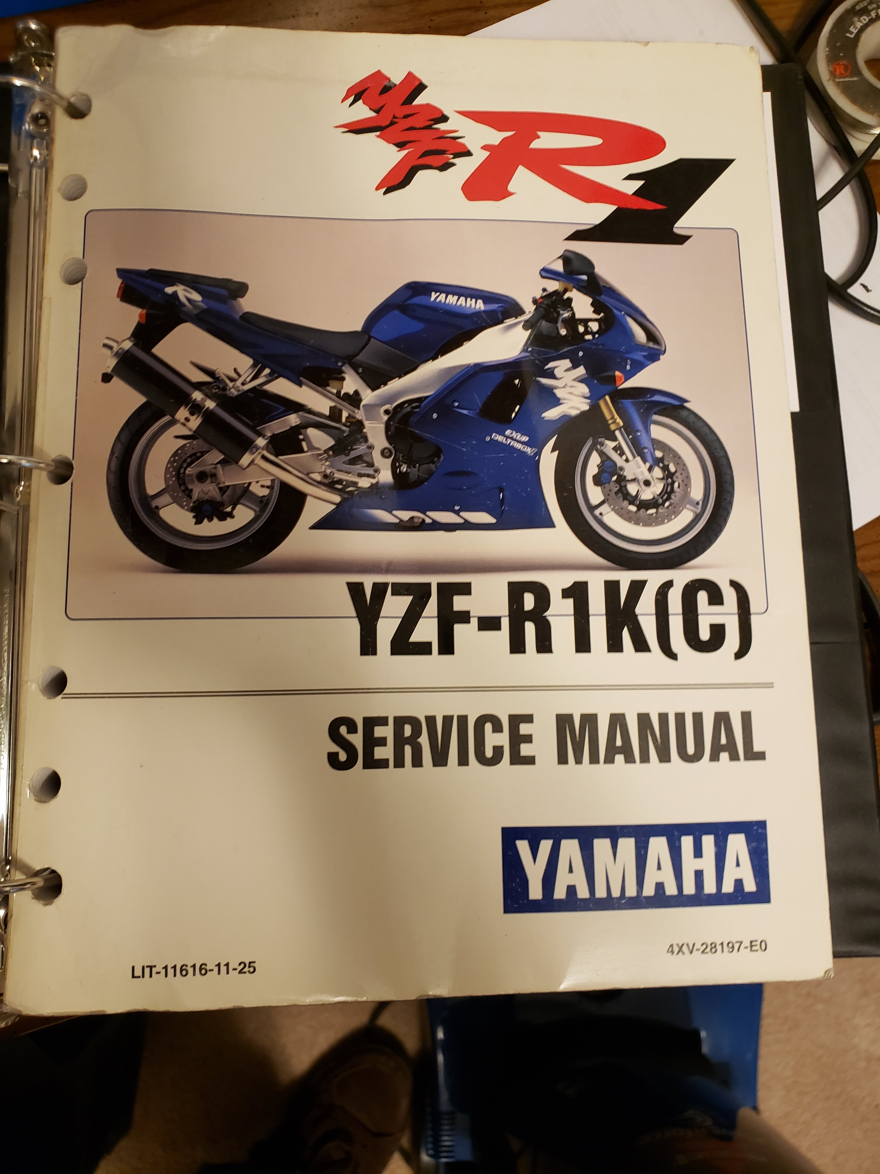 Looking For 1998 R1 Full Wiring Diagram Yamaha R1 Forum Yzf R1 Forums
