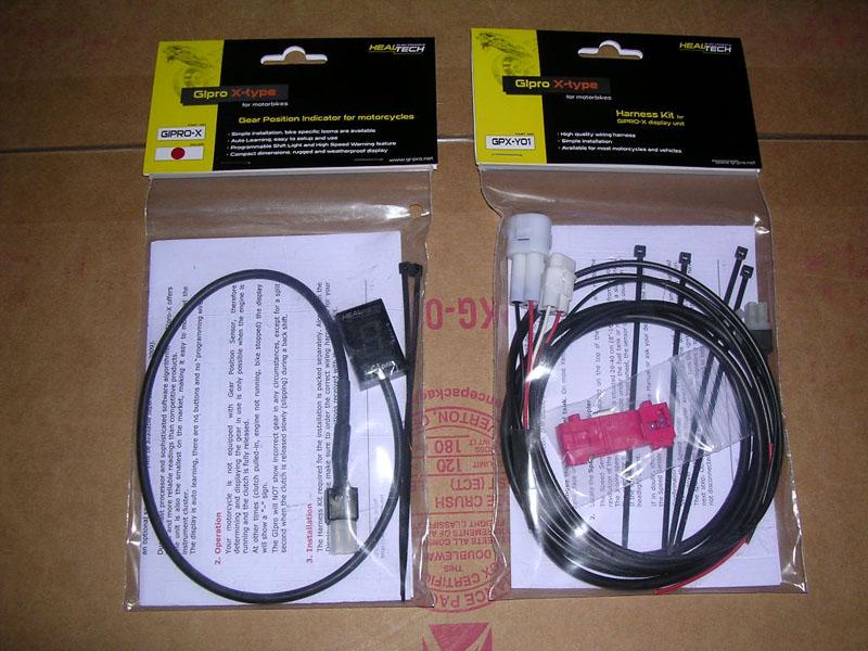 How To Install Healtech Gipro X Gear Indicator Yamaha R1 Forum