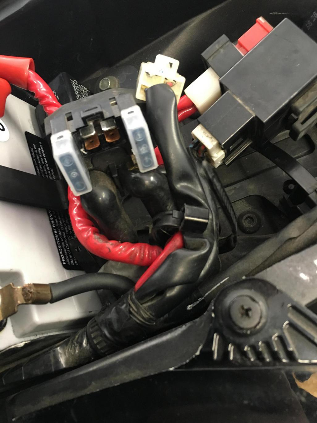 [DIAGRAM_38DE]  starting problems - not sure if relay or starter or...? | Yamaha R1 Forum:  YZF-R1 Forums | 2007 Yamaha R1 Main Fuse Location |  | R1 Forum