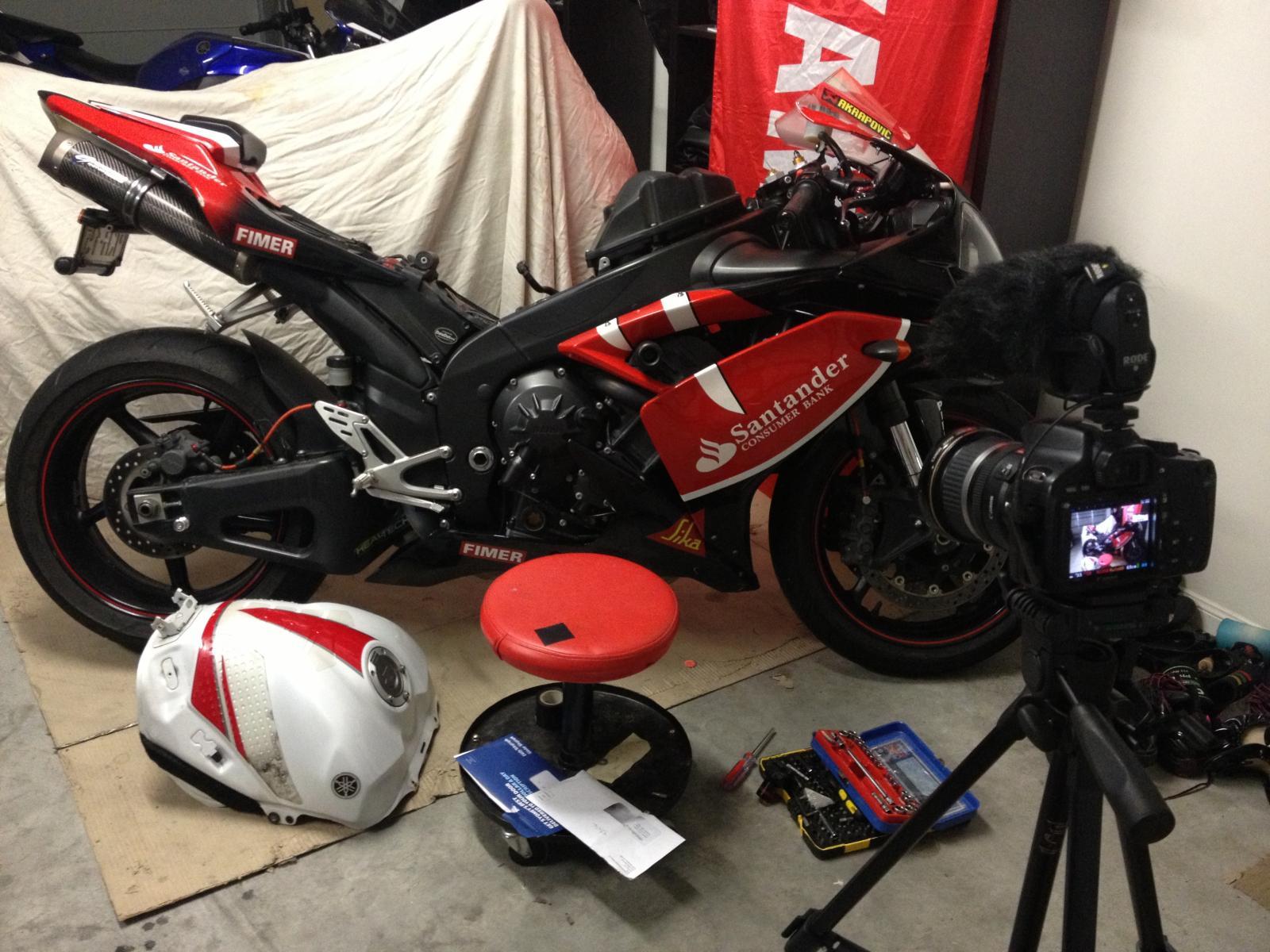 2003 Yamaha R1 Supercharger Kit - Foto Yamaha Best Contest