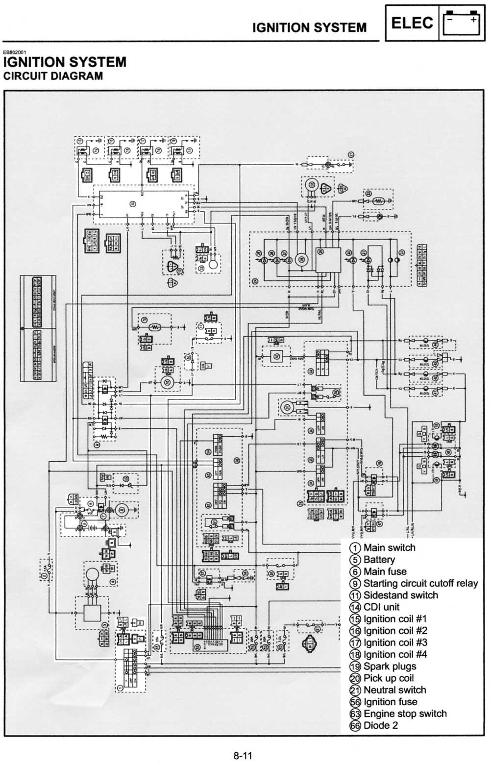 99 R6 No Spark On 2 3 Cylinder Yamaha R1 Forum Yzf Forums R6s Wiring Diagram Click Image For Larger Version Name 1999 Views 382 Size