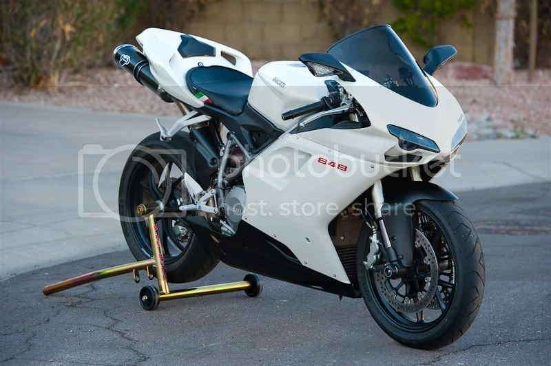 FS: 2008 Ducati White 848 - 5800 Miles - $10450 - Mesa, AZ