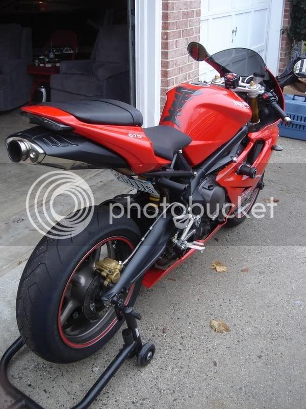 2006 Triumph Daytona 675, Tornado Red!!!! | Yamaha R1 Forum