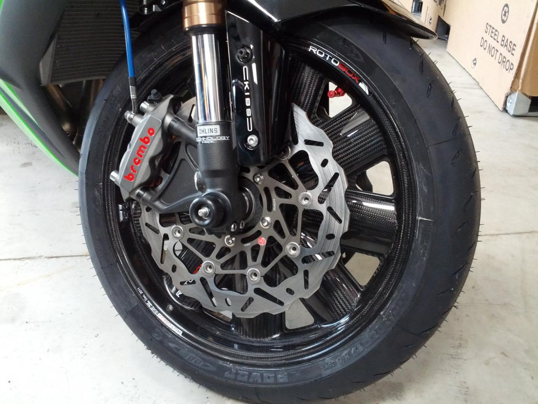 Rotobox wheels on ZX-10 | Yamaha R1 Forum: YZF-R1 Forums