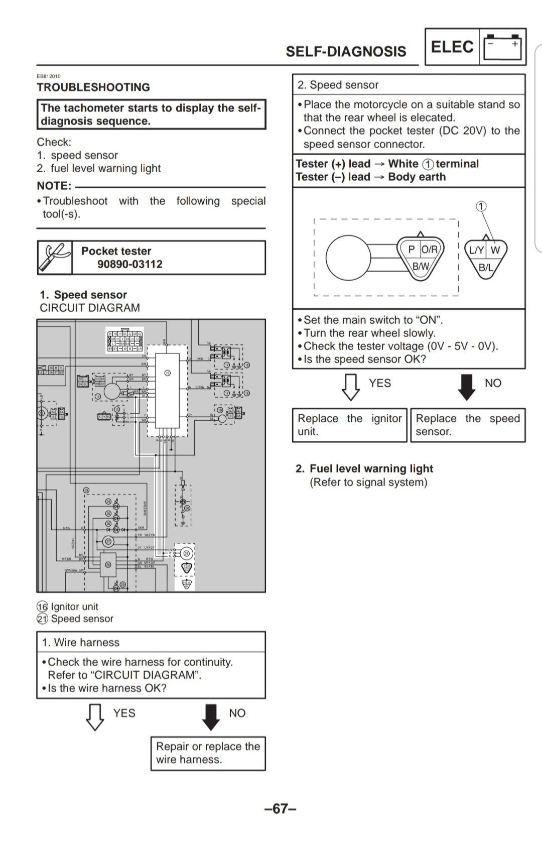 00 R1 Gauge wiring Diagram | Yamaha R1 Forum: YZF-R1 ForumsR1 Forum