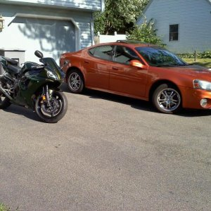 the bike and the car, and no daddy didnt buy either of them