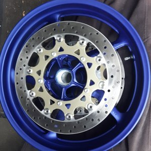 yzf r1 2004 blue wheels